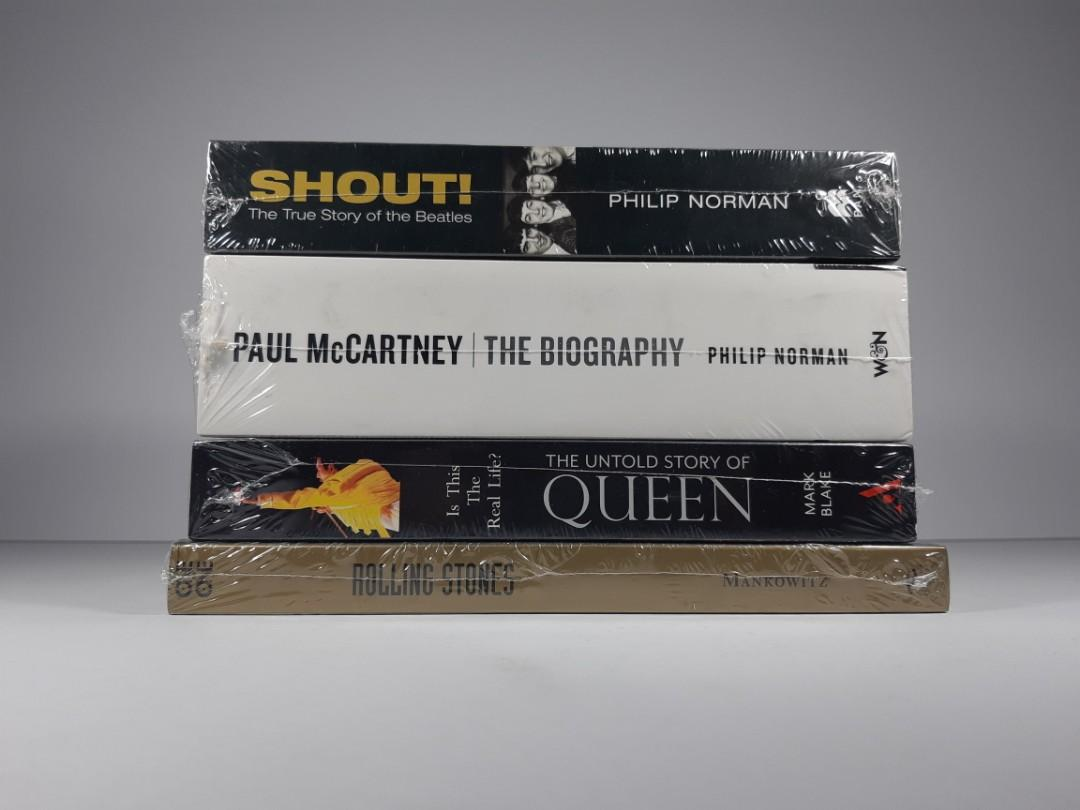 [Book Sale] Classics, Music, Biography, Non-fiction Books 02 (The Beatles, McCartney, Queen)