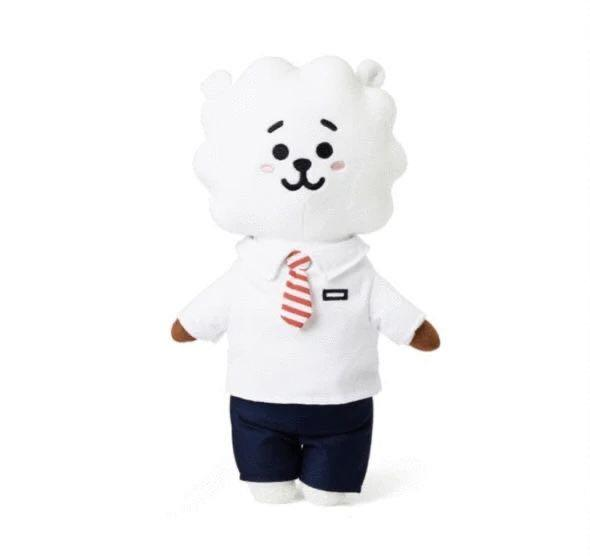 BT21 Official Authentic Goods Afterschool Plush Standing Doll