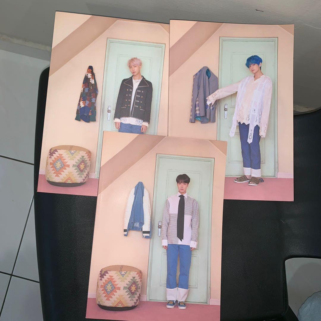 BTS POP UP STORE HOUSE OF BTS NOTEBOOK V JHOPE RM TAEHUNG