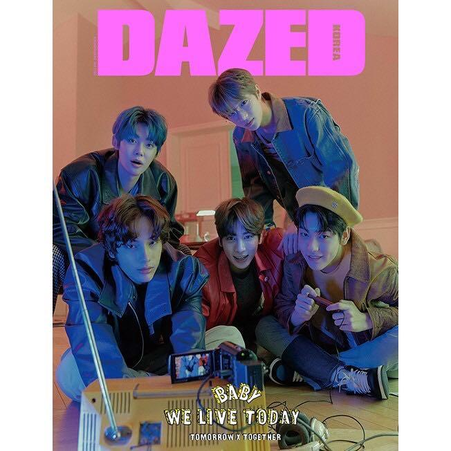 DAZED & CONFUSED KOREA 2020 Spring Edition [COVER : TXT]