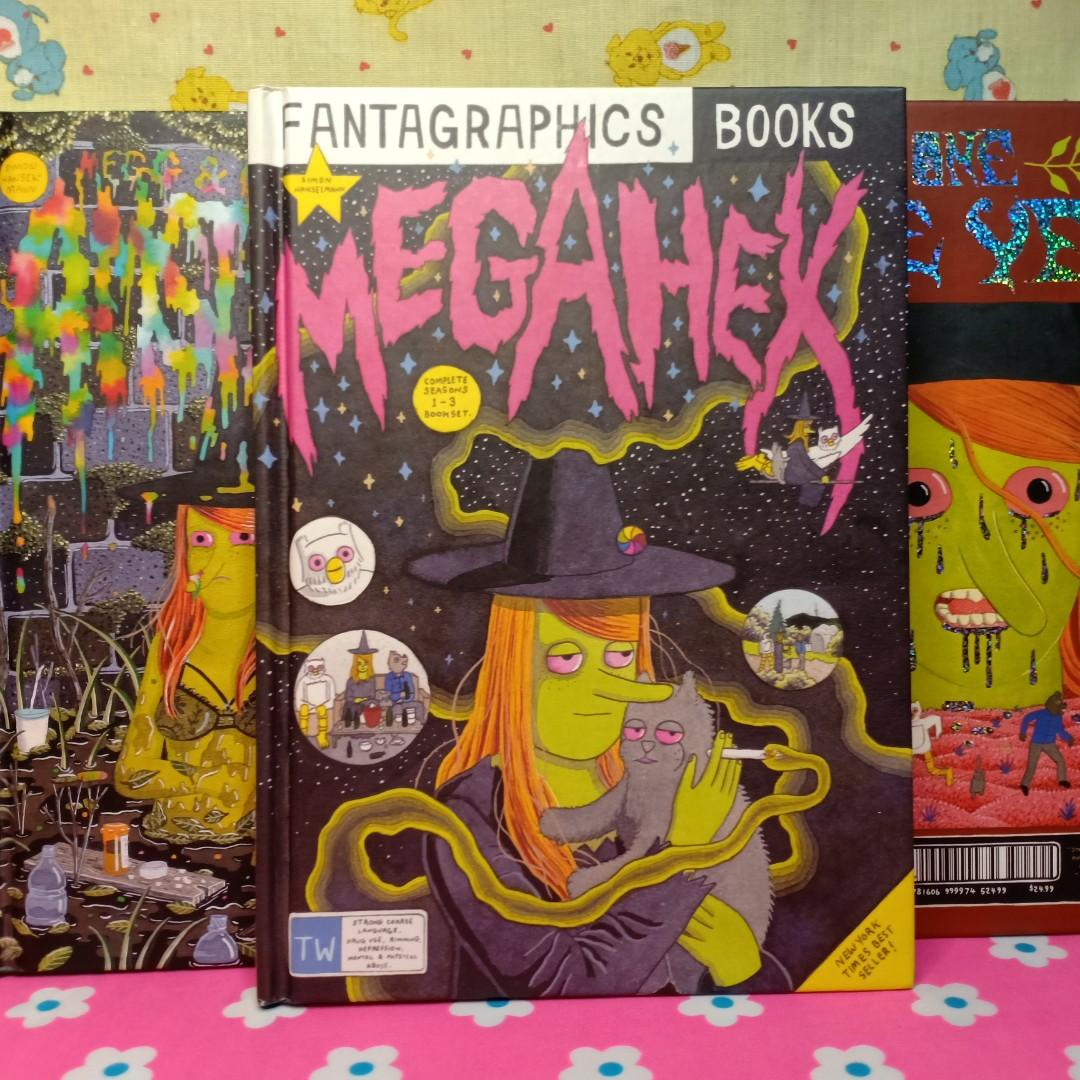 FANTAGRAPHICS Megahex, MMO, One More Year  Graphic Novels by Simon Hanselmann // DC MARVEL IMAGE DARK HORSE VERTIGO DANIEL CLOWES