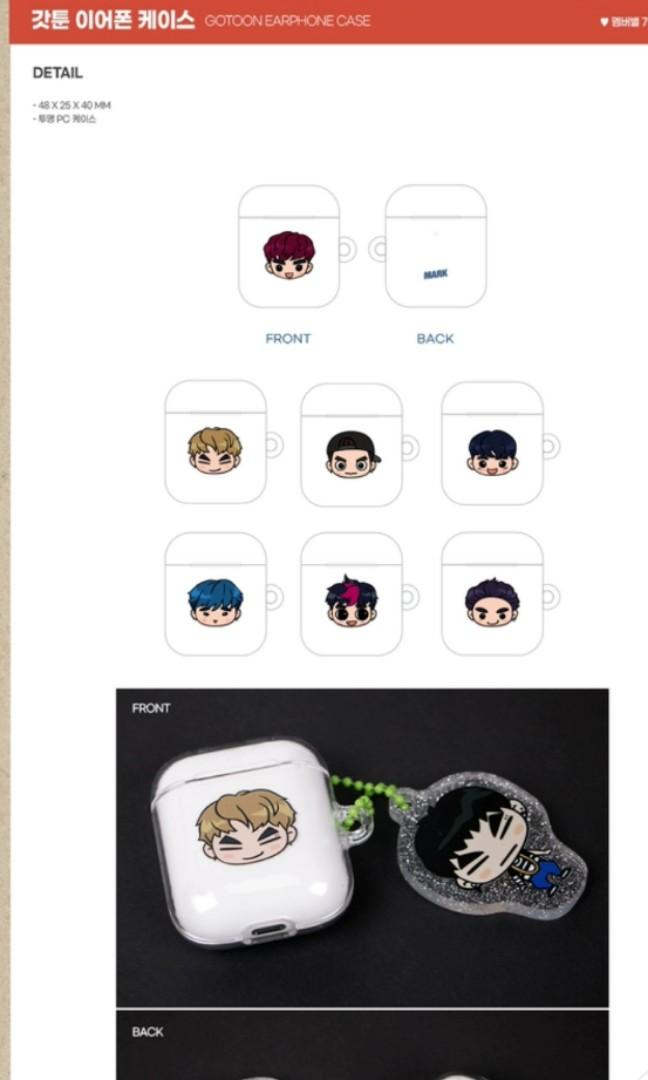 GOT7 6TH ANNIVERSARY FANMEETING OFFICIAL MERCHANDISE