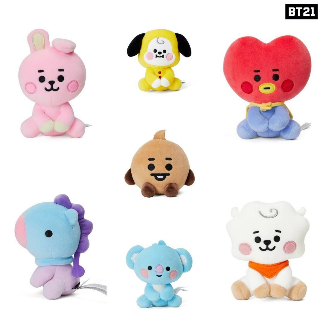 [GROUP ORDER] OFFICIAL AUTHENTIC BT21 BABY COLLECTION