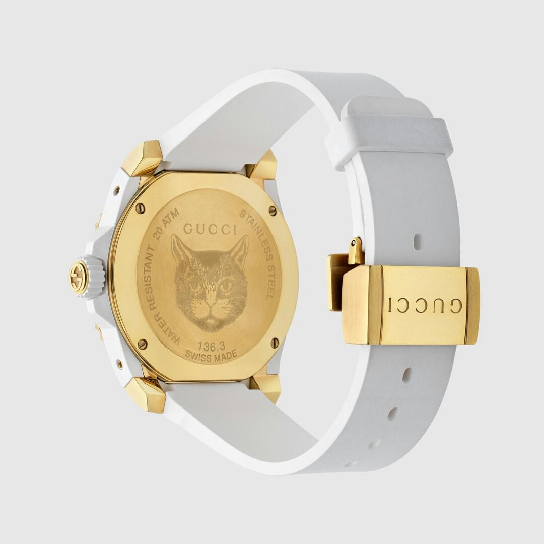 Li yuchun a particular year new flagship shop price is RMB table size thickening the sapphire glass mirror with brand trademark cat head design and super luminescent display for dial application of stainless steel imports of rubber material the original S