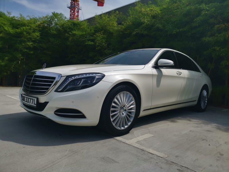Mercedes Benz S400 Wedding Car Rental (with driver)