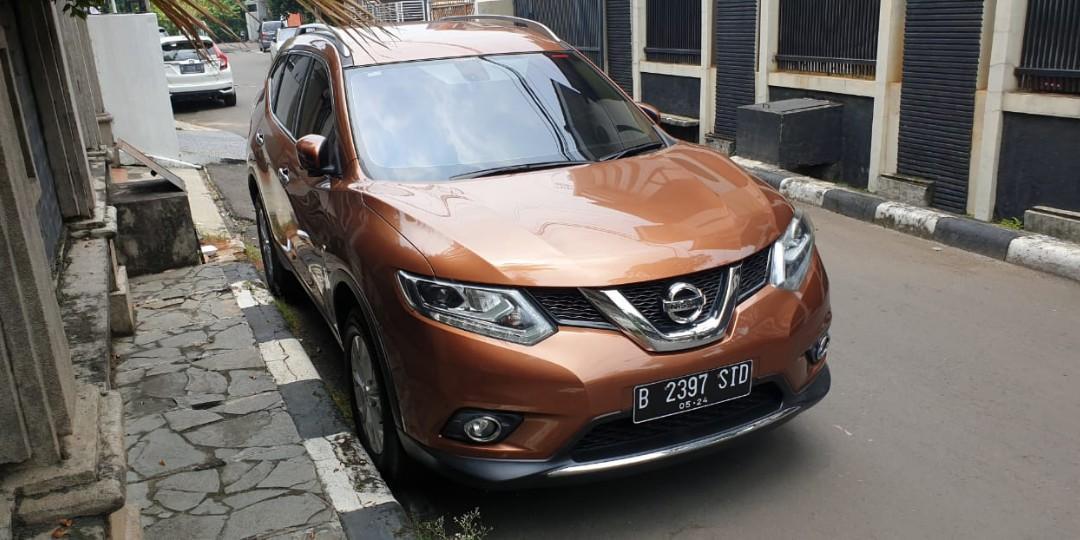 Nissan Xtrail 2.0 CVT 2017 pemakaian 2019..Premium Brown