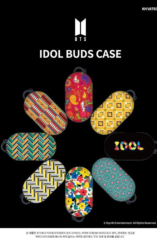 [Official] [BTS X KHVATEC] BTS IDOL GALAXY BUDS CASE
