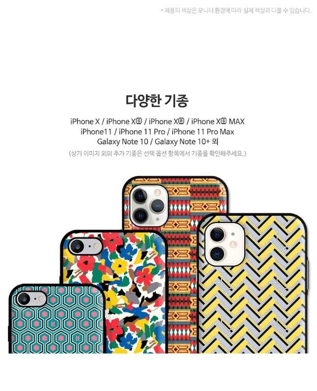 Official] [BTS X Khvatec] BTS Idol Phone Case (Slide Bumper Case) (Cardcase Phone Case)