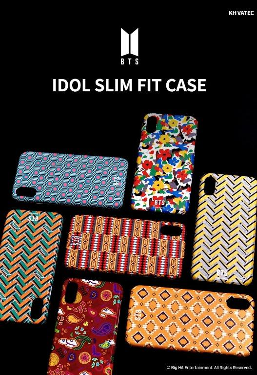Official] [BTS X Khvatec] BTS Idol Phone Case (Slim Fit Case)