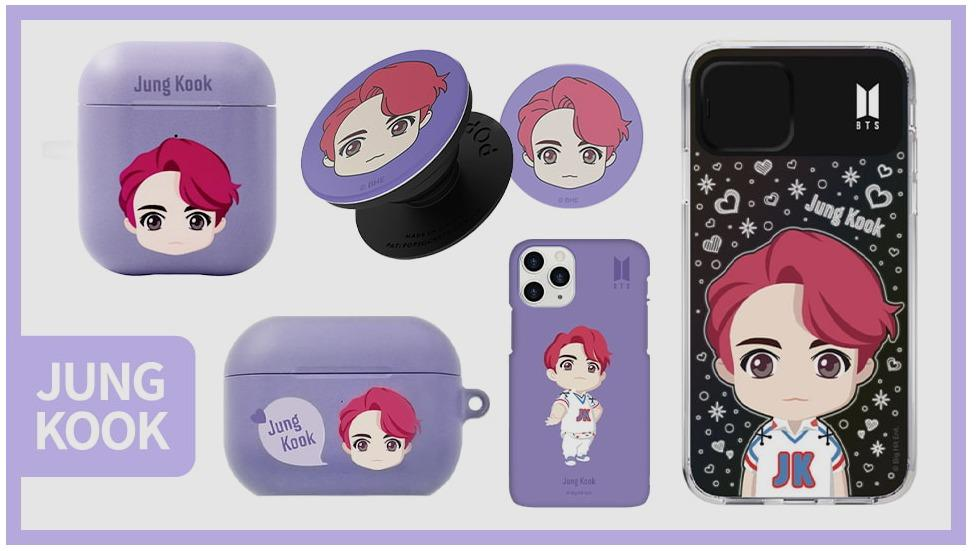 [Official] [BTS X Khvatec] BTS Iphone and Air pods Case Set + Free Gift