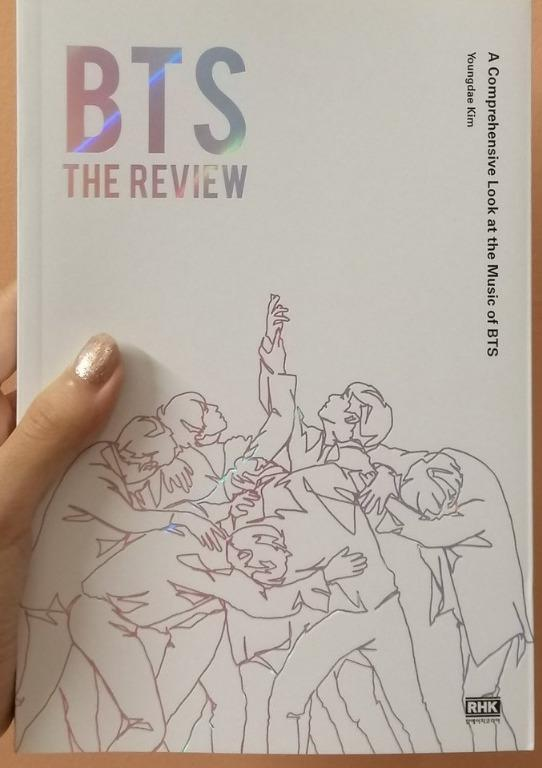 [Pre-Order] [BTS BOOKS] BTS: THE REVIEW (ENGLISH) by Music Critic Youngdae Kim