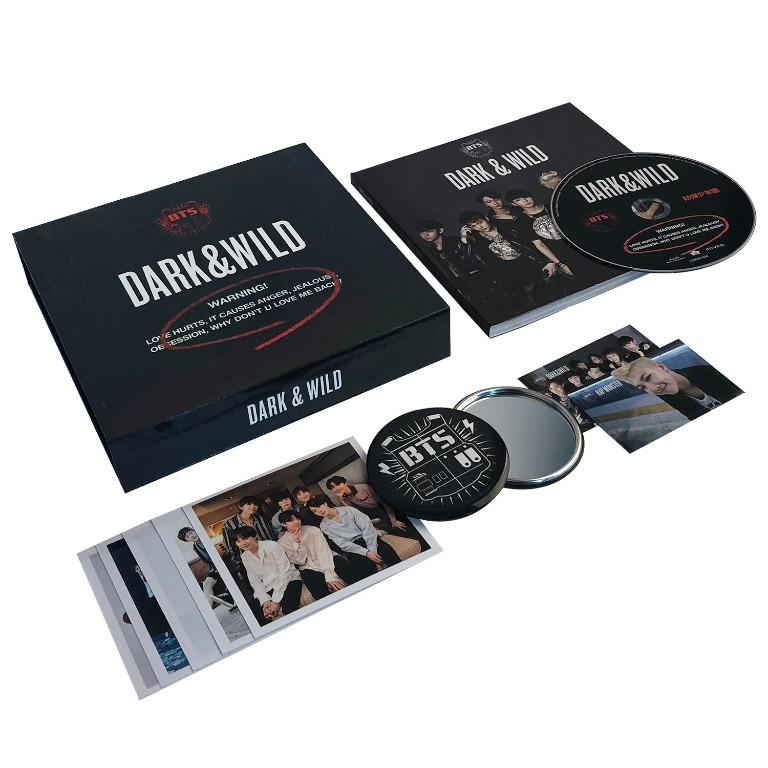 [Pre-Order] BTS [Dark&Wild] First Full Length Korean Studio Album (Vol.1) + Free Gift