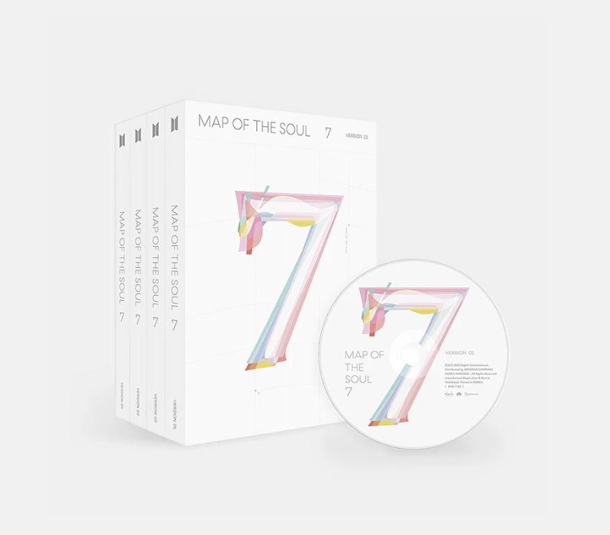[Pre-Order] BTS NEW ALBUM [MAP OF THE SOUL:7] + FREE GIFT!!!!!