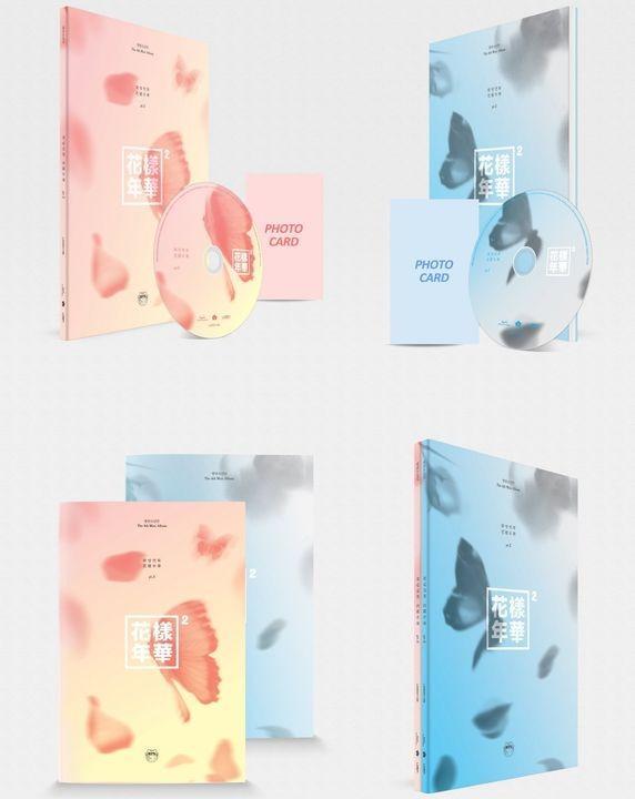 [Pre-Order] BTS The Most Beautiful Moment In Life Pt.2 花样年华 Pt 2 [4th Mini album]