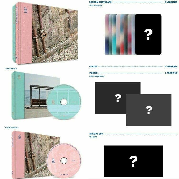 [Pre-Order] BTS [You Never Walk Alone] 2nd Korean Studio Album (Vol.2) 'Wings Repackage' + Free Gift!!!