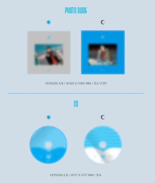 [Pre-Order] (Pre-order gift) KANGDANIEL - FIRST MINI ALBUM CYAN