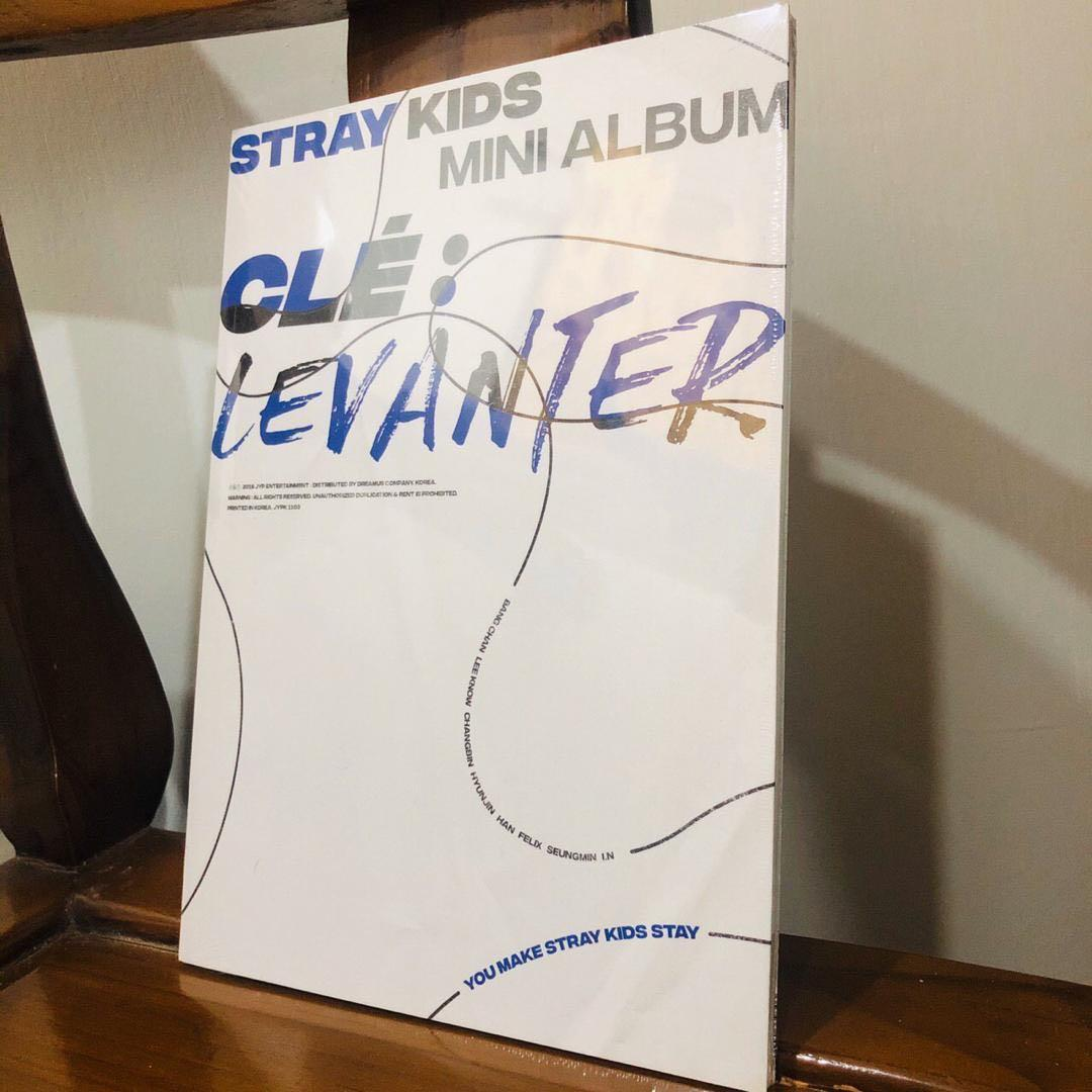 [READYSTOCK] STRAY KIDS CLÉ LEVANTAR FULL SET SEALED