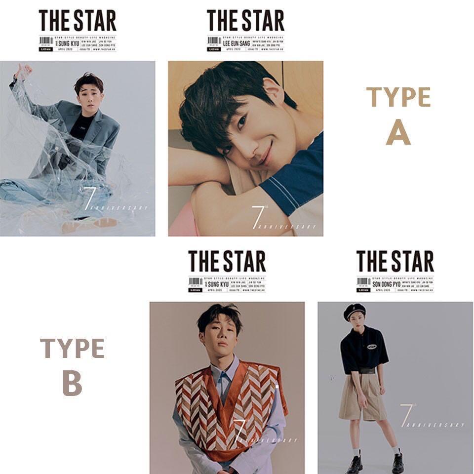 The Star 2020.04(APR)[Front : INFINITE Sung Kyu / Back : Lee Eun Sang]