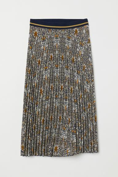 William Morris & Co. X H&M collaboration pleated midi skirt size small