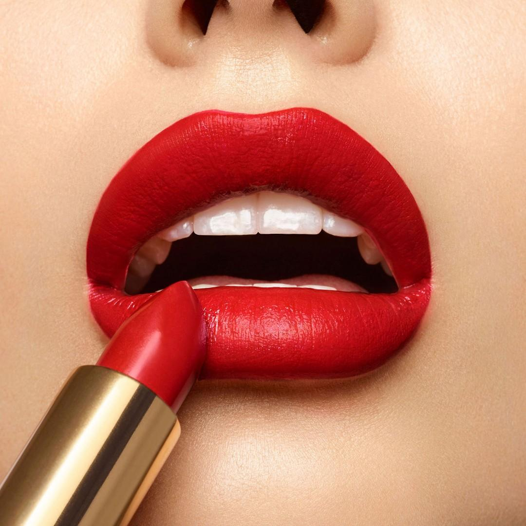 YSL Rouge Pur Couture Lipstick Gold Attraction Edition No. 1 Le Rouge