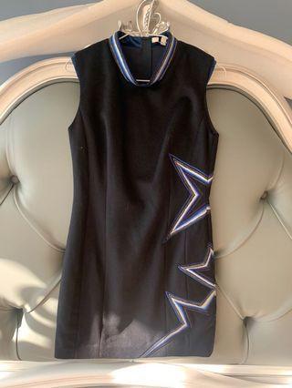La feta 拉法達全新羊毛洋裝 氣質修身裙 合身洋裝 宴會洋裝裙子 無袖背心洋裝