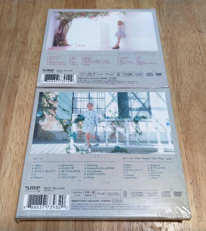 西野カナ / 西野加奈 / Nishino Kana - Love Collection ~pink~ + ~mint~ (香港初回限定生產盤 CD+DVD)