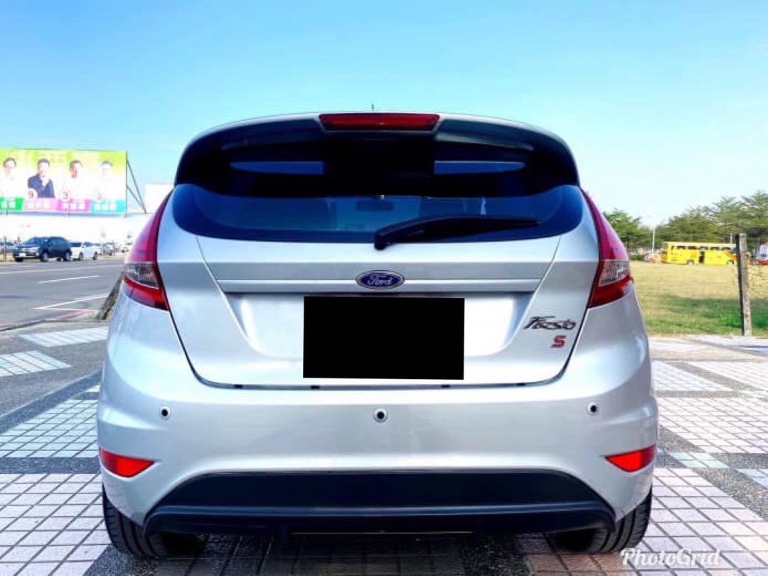 ① 廠牌型號:FORD FIESTA  ② 車輛年份:2012年