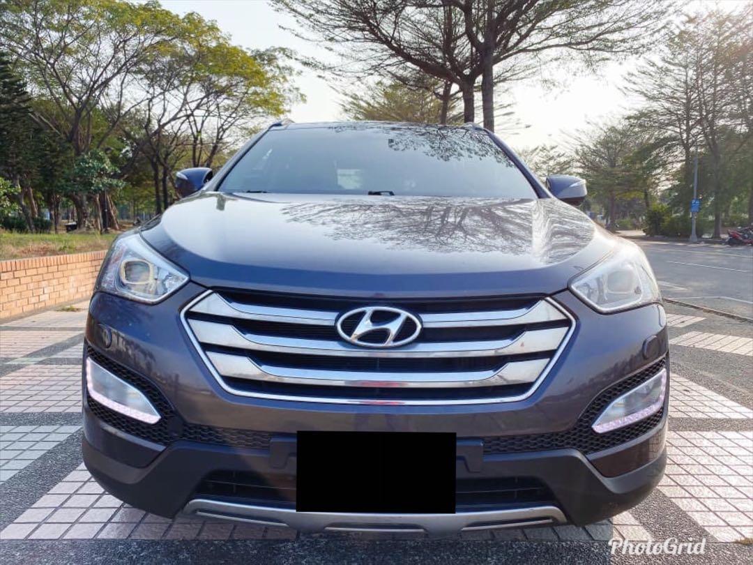 ① 廠牌型號:HYUNDAI SANTA FE  ② 車輛年份:2014年
