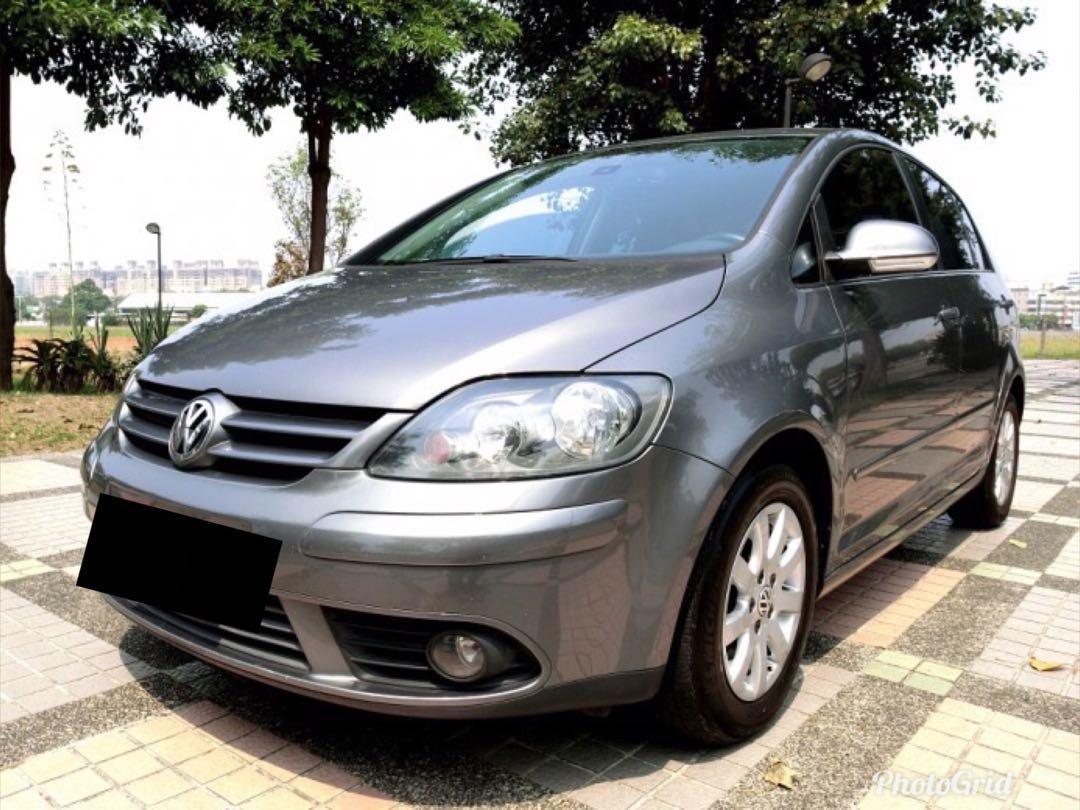 ① 廠牌型號:VW GOLF V PLUS  ② 車輛年份:2007年