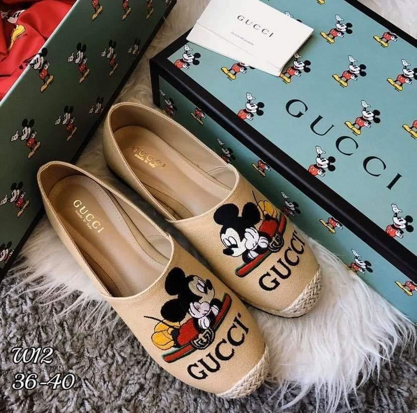 🔅Best seller🔅 🐭Gucci New Collection 🐭  $38 EACH  (STRICTLY BY REGISTERED MAILING ADD $5 )   Size : 36-40   Color : White, Cream, Black **LIMITED STOCK**