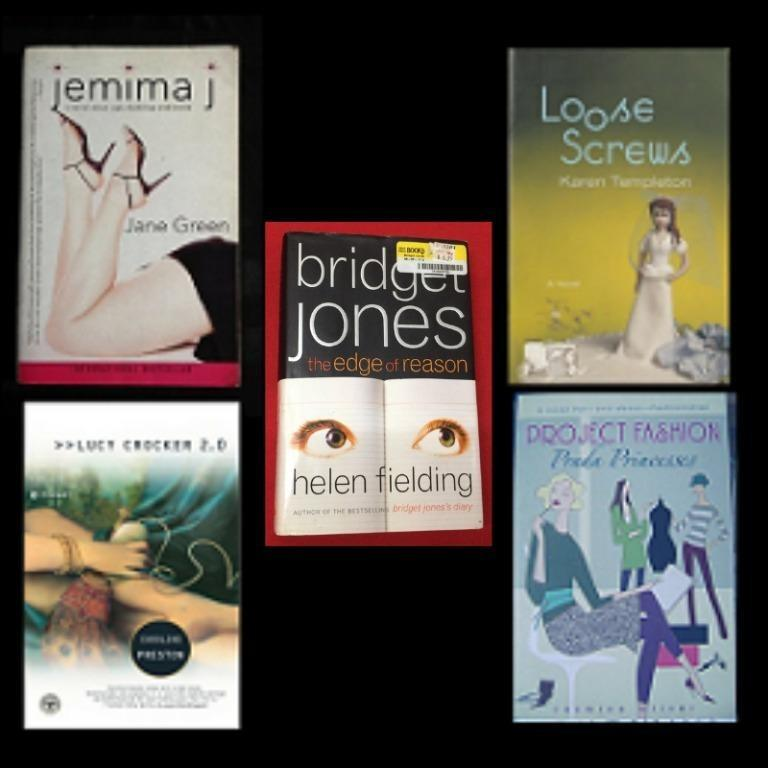 Bridget Jones/The Edge of Reason * Jemima J * Loose Screws * Lucy Crocker 2.0 * Project Fashion: Prada Princesses