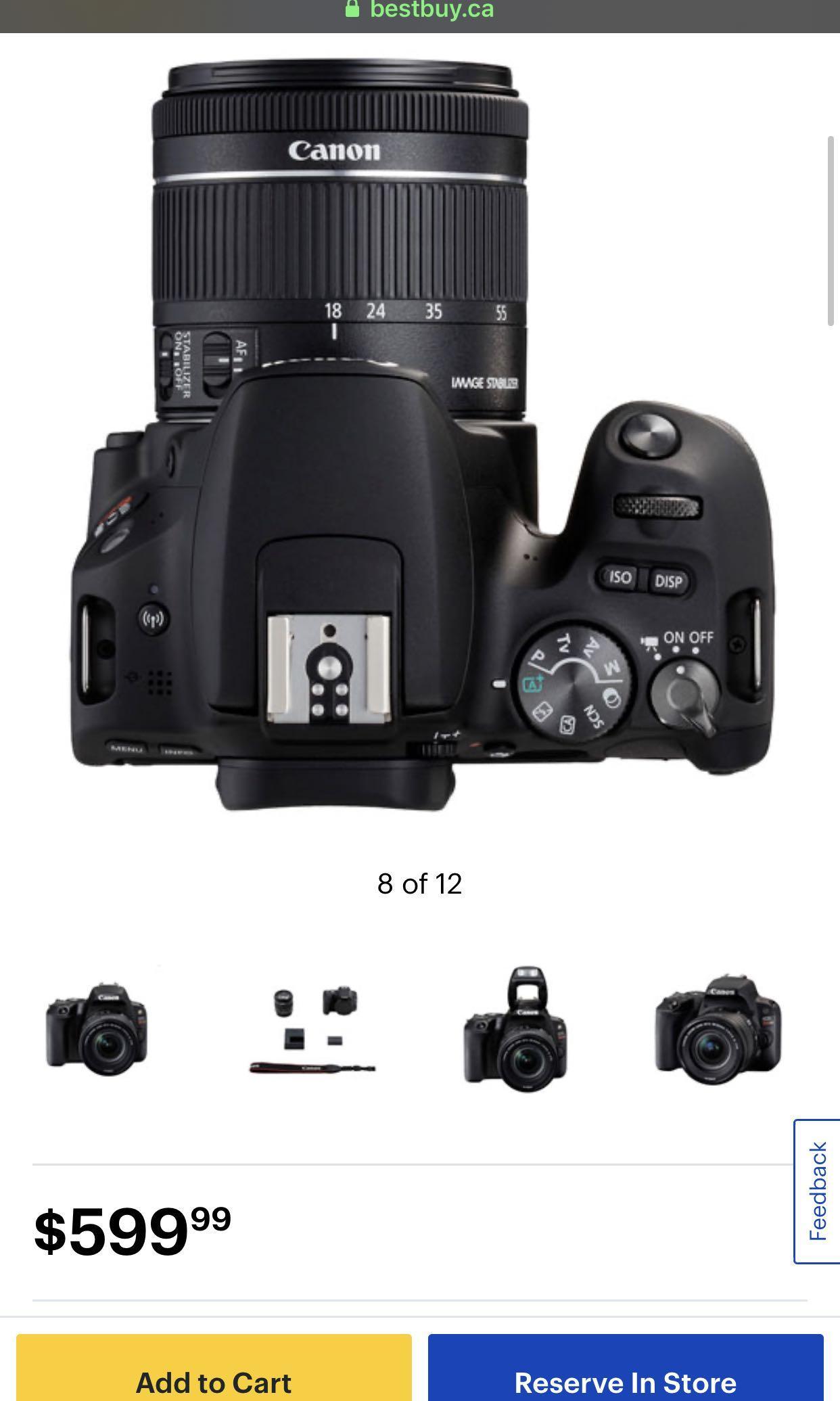 Canon EOS 1100d/t3 12.2 MpDigital Slr with 18-55mm Lens Kit