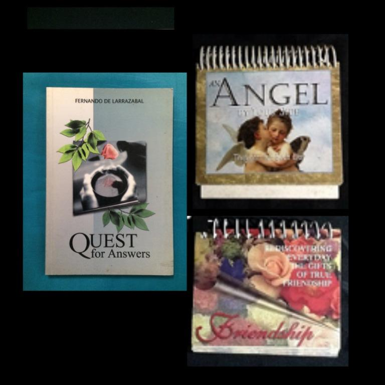Flip Books: An Angel by Your Side, Rediscovering Everyday the Gifts of True Friendship * Ques for Answers
