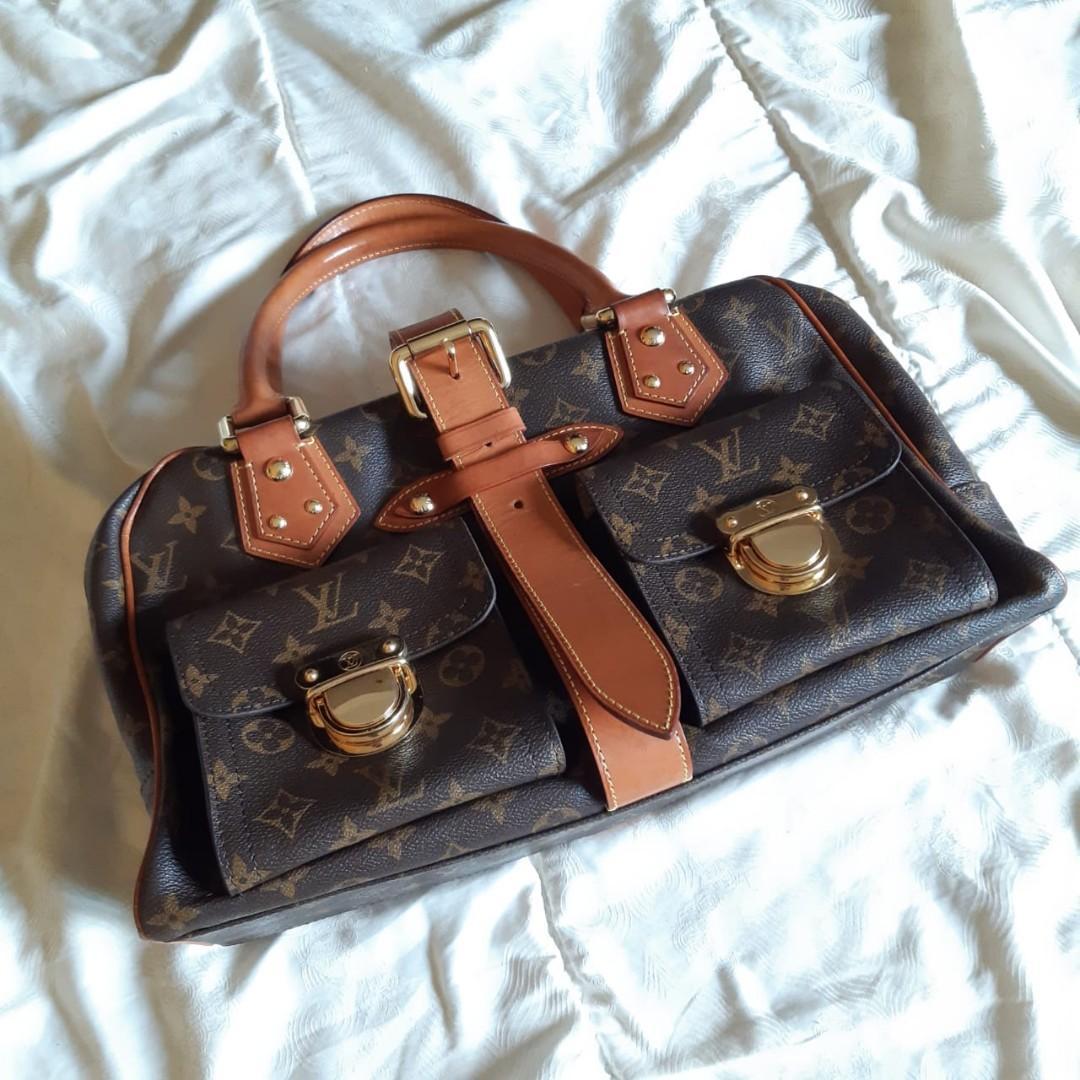 Louis Vuitton manhattan monogram gm 2005 mirror high quality (worn 1x/no defect)