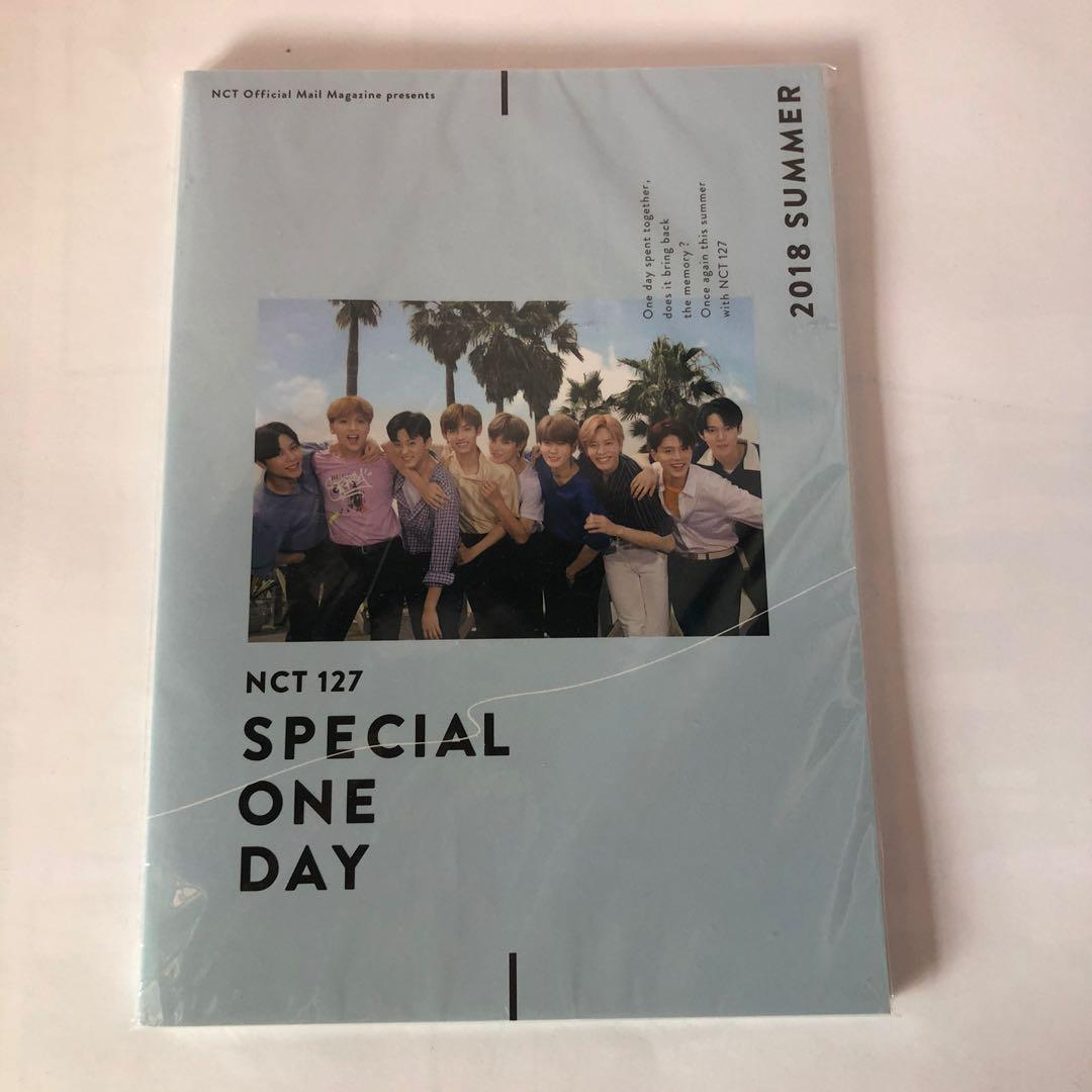 NCT 127 Japan 2018 Summer Special One Day Photobook