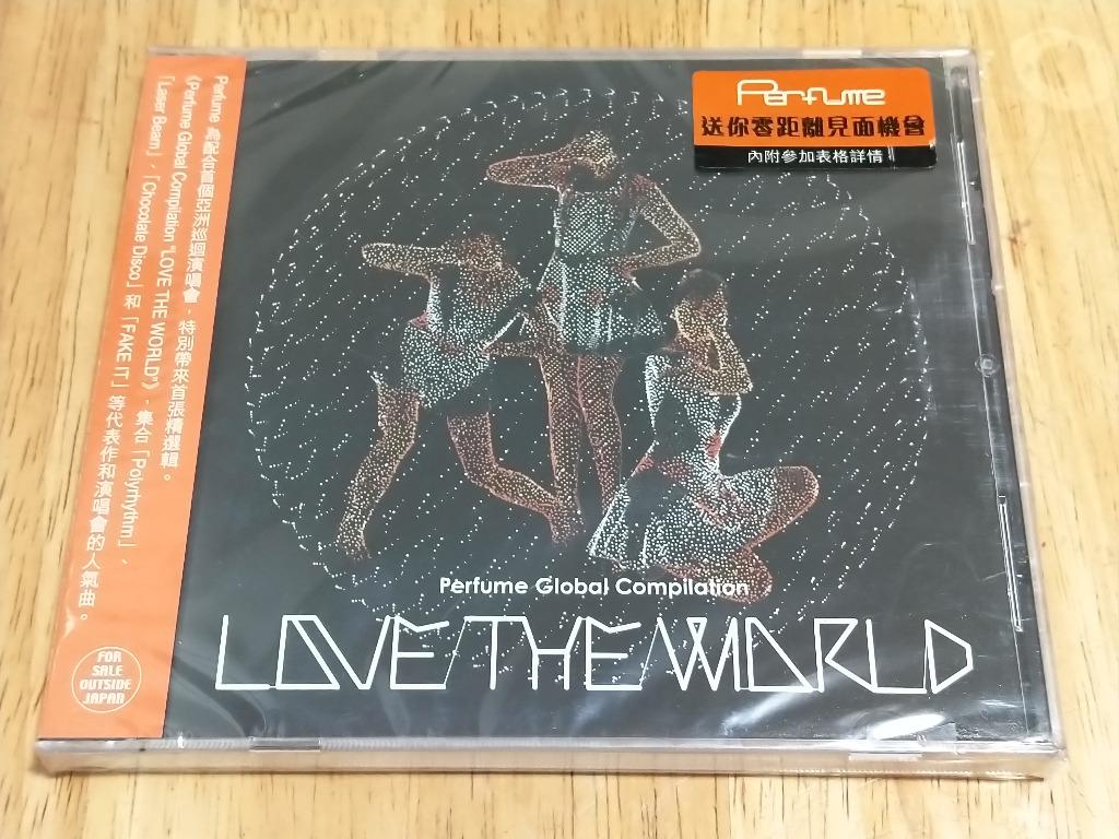 Perfume - Perfume Global Compilation - LOVE THE WORLD (香港盤 DVD)