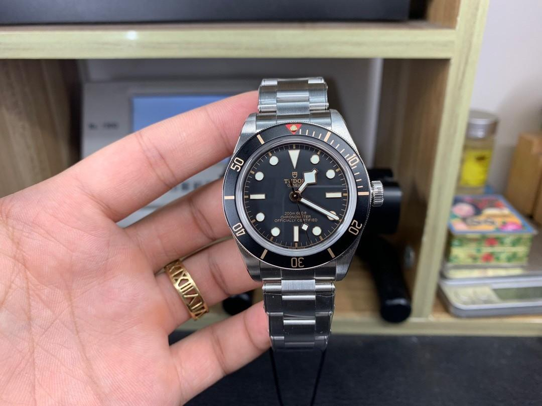 (Ready stock) ZF Tudor Heritage Black Bay Fifty-Eight M79030N-0001 SS Black Dial Swiss 2824-2