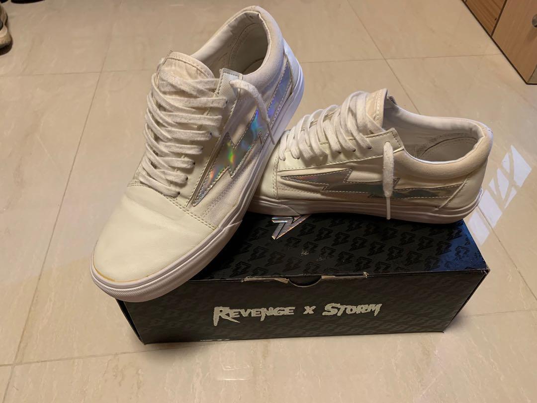 Revenge x Storm Bolt White US10 Used