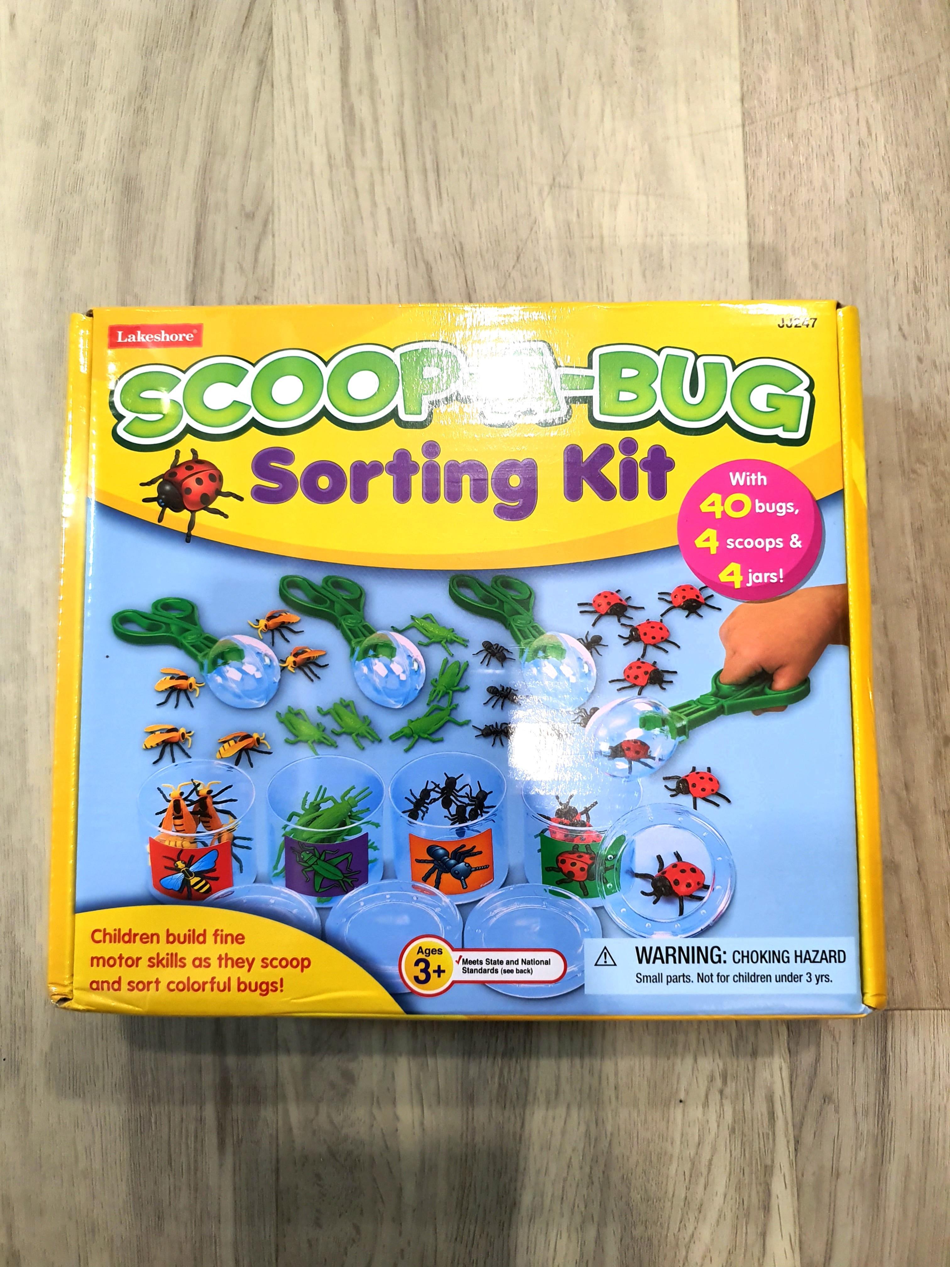 Scoop-A-Bug sorting kit