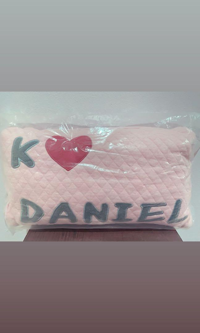 WTS WANNA ONE KANG DANIEL THE SPRING HOME OFFICAL PILLOW