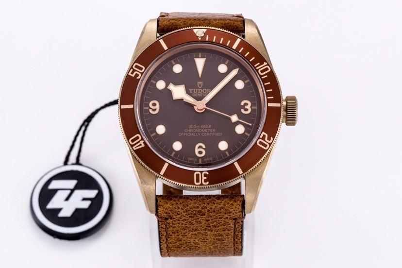 XF V4 Tudor Heritage Black Bay Bronze M79250BM-0005 Bronze Chocolate Dial Swiss 2824-2