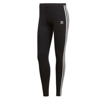 Black and grey Adidas leggings