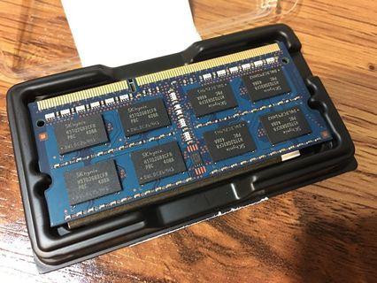 筆電 記憶體 SK hynix 4GB 未測試