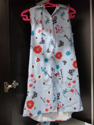 Dress bunga