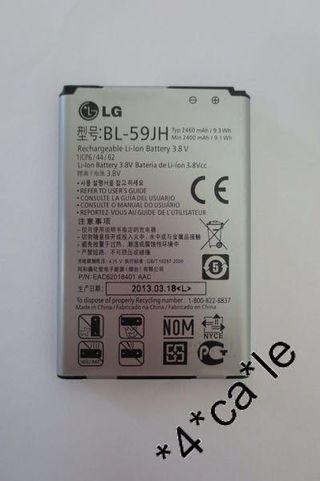 LG Optimus F5 Lucid2 2460Mah battery 充電池 P703 P715 BL-59JH