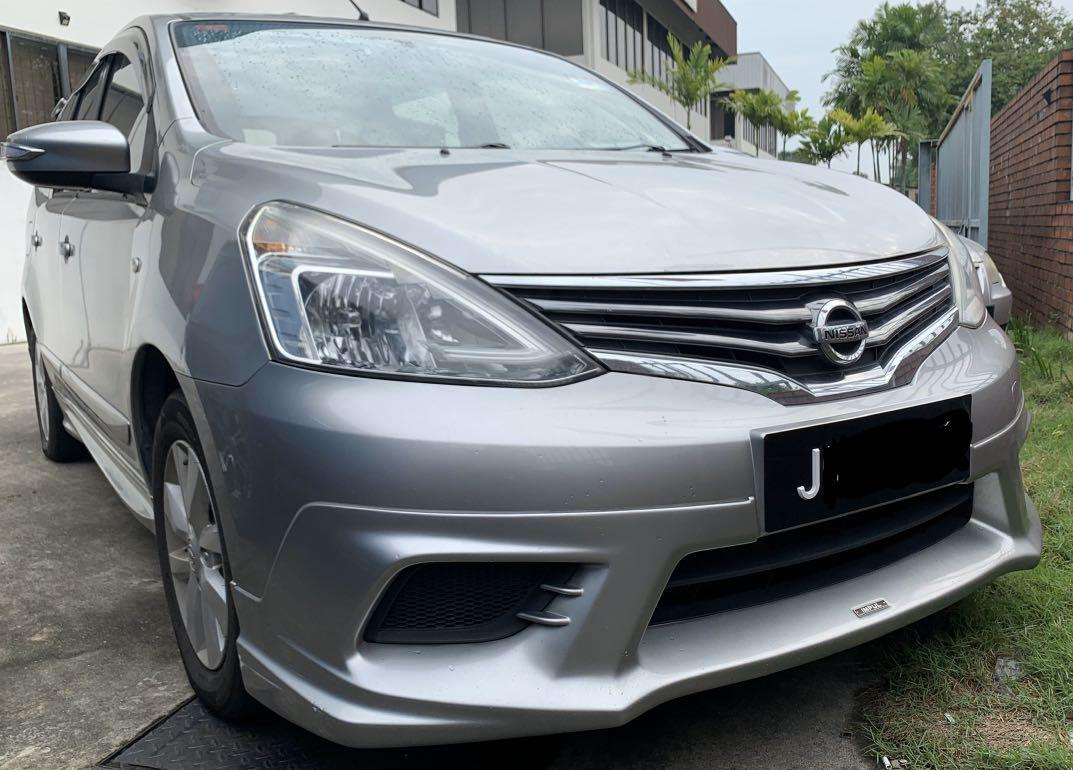 2016 Nissan Grand Livina 1.6A full spec IMPUL Navi