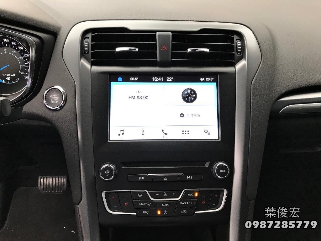 福特原廠認證中古車2018年Ford Mondeo EcoBoost240 MK5汽油小改款天窗 原廠認證保固