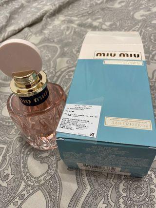 Miu miu 粉色嬉遊女性淡香水100ML