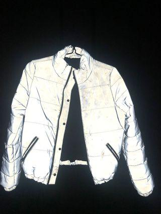 GUESS Reflective Puffer Jacket