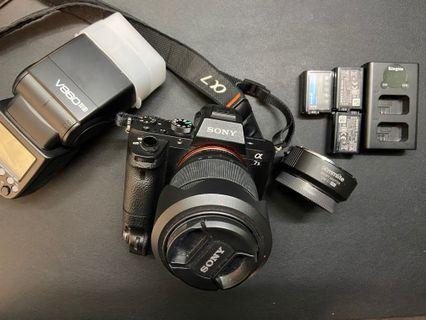 Sony a7ii kit set +大量配件